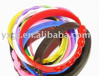 Wholesale New Silicone Bracelets