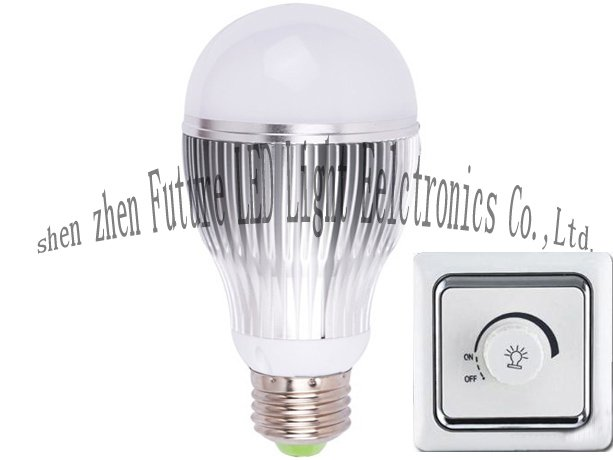5W E27/E26/GU10/B22 LED light bulb dimmable(China (Mainland))