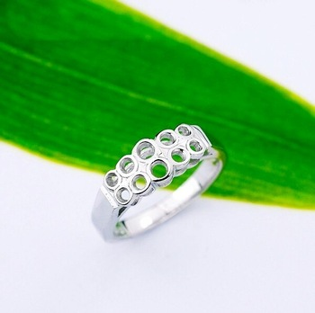 Wholesale & Retail for 100% Guaranteed 925 Sterling Silver Ring, 925 Silver Ring, 925 Sterling Silver, Top Quality!! (K0096)
