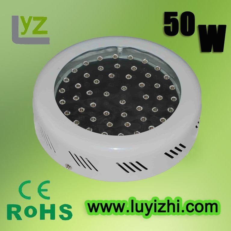 Hot sell Free shipping+100% 2 years warranty+ CE RoHS approved= 50w LED grow light(China (Mainland))