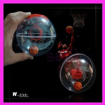 Latest toy leisure finger Flash music palm basketball toy 10pcs/lot EMS free shipping