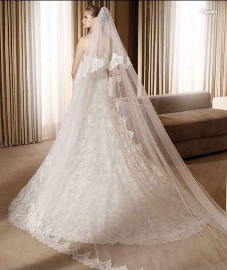 Free shipping,Lhui 041313 ivory,2011 new design wedding dress,lace,gauze,floor-length,accept(China (Mainland))