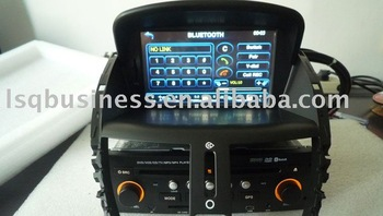PEUGEOT 207 car dvd player with gps navi, autoradio RDS, DVBT ISDBT digital tv optional, in stock & free shipping!