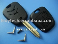 Citroen remote key blank 2 buttons