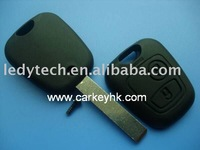 Hot sell Citroen 407 remote key shell 2 buttons NO LOGO free shipping by hkpost