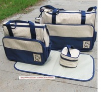 5 sets/lot- Diaper Bag/Mummy bag/Nursery Nappy Bag