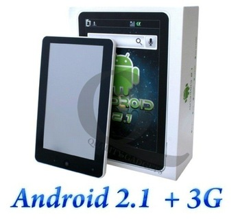 "7 inch Tablet PC Android2.2 TCC8902 Muti-touch 3D Game 1080P HDMI Wifi 3G MID"" Free shipping"