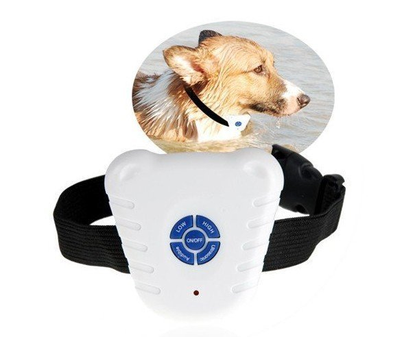 Wholesale Ultrasonic Anti Bark Stop Barking Pet Dog Training Shock Collar microwave, dog collar, Pets colars and leashes(China (Mainland))
