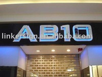 hot ! sell outdoor used low price led letters