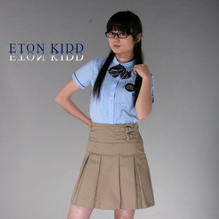 ... KIDD girls' khaki pleated skirt 09Q212/ school uniform Free Shipping