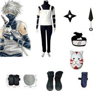 Anime Naruto Cosplay - Naruto cosplay Anbu Bundle Big Promotional Package Cosplay Costume Set Freeshipping