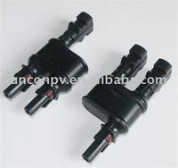 20 pairs, solar branch connector/guaranteed 100%/PPO/free shipping TUV /solar branch plug