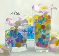 FREE SHIPPING -- ALL COLOR NEW Crystal Jello Wedding Party Centerpiece Decoration