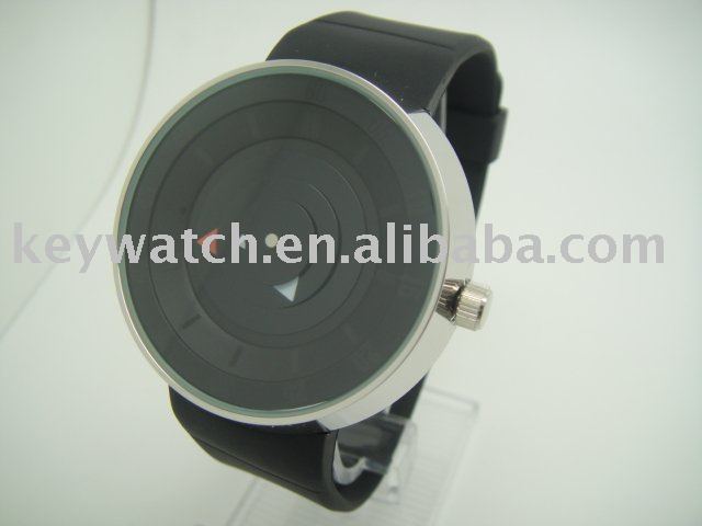 Free shipping- COOL FUCDA Unique Design Jelly Silicon New Concept LED Watch With 100% Warranty 30meter Waterproof/15pcs(Hong Kong)