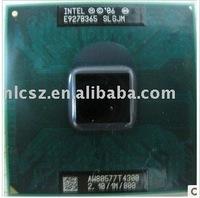 Wholesale and retail intel laptop cpu T4300 SLGJM 2.10G/1M/800