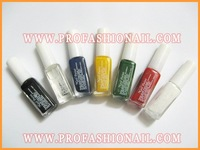 Free Shipping - 7 Colors Nail Art Paint Drawing Stamping polish Set For nail stamper NA288