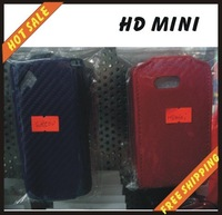 Free shipping --New high quality leather cover case for cellphone HTC HD MINI
