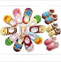 Factory price 100 pcs/lot lovely children Puzzle Ship socks A,B socks free shipping