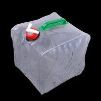 10L folding camping water bag  portable water bag 1pc