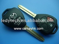 Hot sell*Toyota 2+1 buttons remote key shell