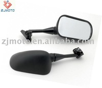 MOTORCYCLE MIRRORS For 1999-2006 Honda CBR 600 F4 F4i / RC51 / RVT 1000 Jet Black Racing Mirrors + + Free Shipping