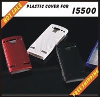 Free shipping --New high quality more colours plastic cover case mobile phone cellphone for SAMSUNG I5500