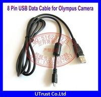 Free Shipping New Arrival 8 Pin Digital Camera Cable for Olympus Cameras FE250 FE280 FE290 FE300 FE310
