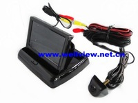 Car Reversing Camera System with 4.3inch flip down monitor and high quality camera