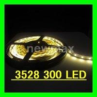 LED Strip LED ribbon Ultra-bright low power consumption Flexible LED light Strips Warm white 1rolls/lot