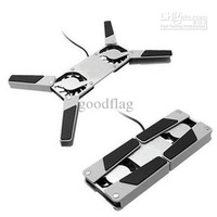 2011 Hot!With Two Fans(c025) newly MINI Foldiing USB Laptop Cooling Pads & Fans