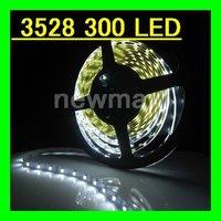 Retail LED Strip Flexible ribbon for curving around bends WHITE LED light strip 5M/lot