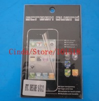 100pcs/lot&freeshipping Clear Screen Protector Guard For HTC Desire S S510e