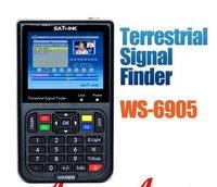 2011 New Version , SATLINK WS6905 Digital TV DVB-T Digital terrestrial signals Finder Meter, Free shipping