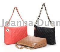 lady's real leather small handbag S-001