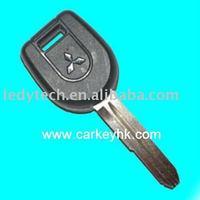 Good quality Mitsubishi transponder key with right blade 4D61 chip, car keys