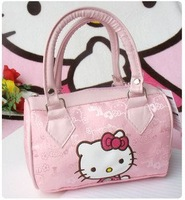 Cute Tote Pink Bag Hello Kitty Women Tote Handbag
