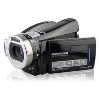 New Arrival!5.0 Mega Pixels HD 720P HDMI TV Out 8X Digital zoom HDV8000,1pcs /free shipping!
