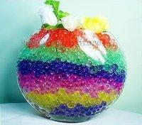 400 Bags/lot 3g/ bag Water Plant Jelly Crystal Ball Soil, magic soil/ multifunction crystal soil 1 week devliery free shippig UK