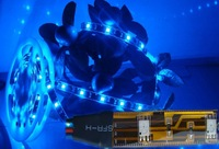 5pcs 5m LED Strip Blue led strip lamp SMD 3528 Wateproof Flexible 300LEDs 5M &amp;Control with 96w power transformer