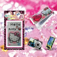 Wholesale rhinestone hello kitty stickers for phone skin ! Freeshipping +more than 150designs for your choice.!!