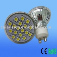 FREE SHIPPING 18PCS SMD5050 2.7W LED GU10
