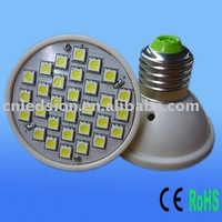 FREE SHIPPING 24PCS SMD 3.6W 110V LED Bulb Light (ABS Fireproof)
