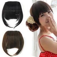 FREE Shipping-2011 New  fashion girls' fringe hair with site  /Bang hair extension /part wigs -Sale!