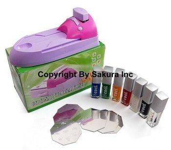 Free shipping & Free Order/DIY nail stamping printing machine polish/DIY Nail PrintingTool low price retail