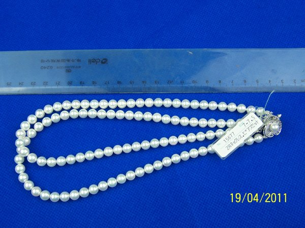 JAPANESE SEA WATER PEARL JEWELY NECKLACE,TOP QUALITY,WITH CERTIFACTION(China (Mainland))