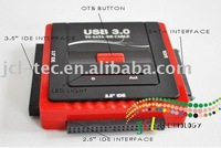 USB 3.0 to 2.5inch and 3.5 inch SATA/IDE adapter HDD with OTB function