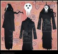 Freeshipping Hot Selling low price Cheap Cosplay Costume C0502 Soul Eater Shinigami Uniform