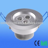 10pcs/Lot 3x1W LED Ceiling Lamp (Rotatable Head)