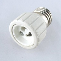 Best selling 10pcs/pack, E27 to GU10 porcelain convertion lamp holder adapter for led light