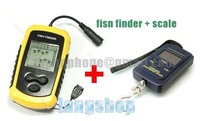 Рыболокатор 2 IN 1 Wireless Fish Finder with Sonar Sensor with 2.8 Inch Display FFW718 + Fishing scale